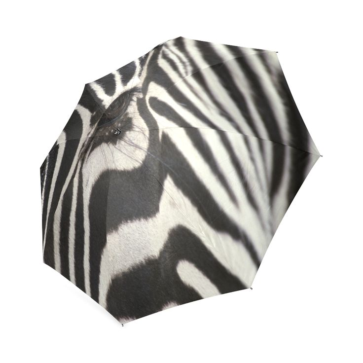 Zebra Foldable Umbrella