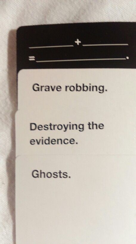 Supernatural cards against humanity online