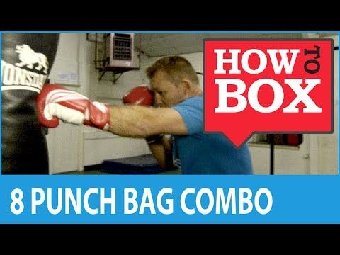 8 Punch Combination for Heavy Bag Boxing Workout - YouTube
