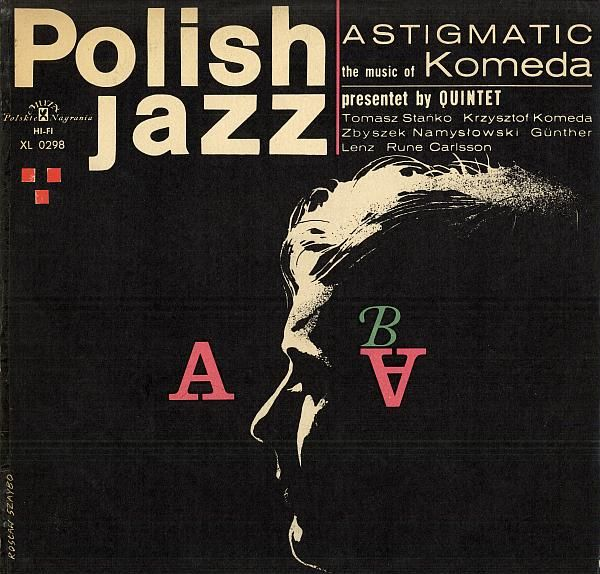 KRZYSZTOF KOMEDA - Astigmatic cover