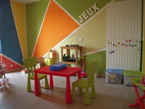 558 best murs enfants images on pinterest child room play rooms and murals. Black Bedroom Furniture Sets. Home Design Ideas