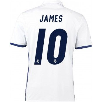 Real Madrid 16-17 James Rodriguez 10 Hemmatröja Kortärmad   #Billiga  #fotbollströjor