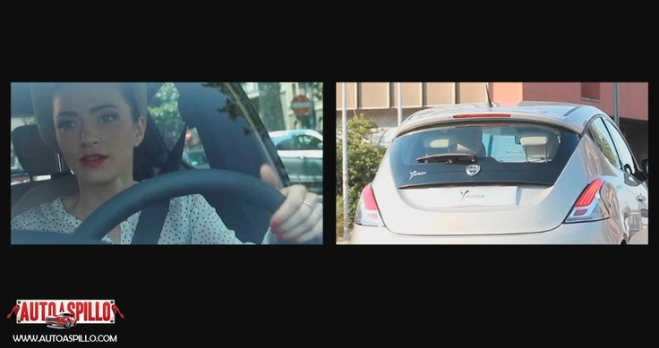 Lisa nel test drive della nuova Lancia Y 5 porte. Puoi vedere il video qui: http://www.youtube.com/watch?v=U0or7AMuyOQ=plcp