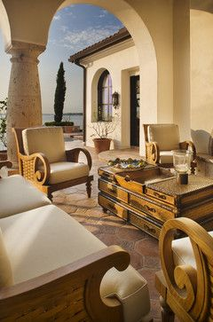Spanish Villa Outdoor Retreat } Jauregui Architects + Design