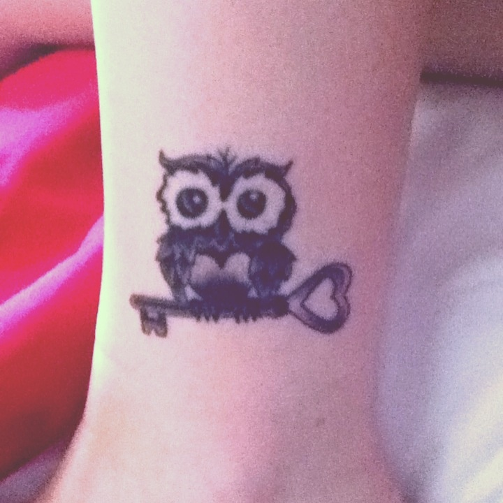 Owl tattoo.... yes. Needs a heart somewhere though. Thinking of ankle?
