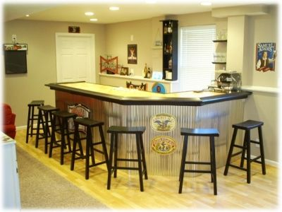 Home Bar Plans Online - Designs to Build a Wet Bar