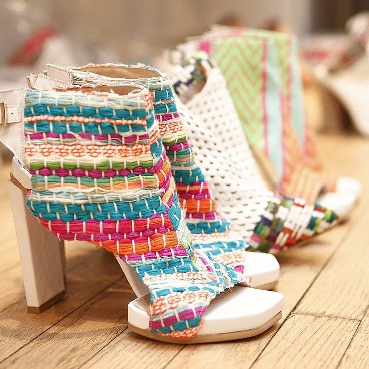 Colorful shoes for colorful life!