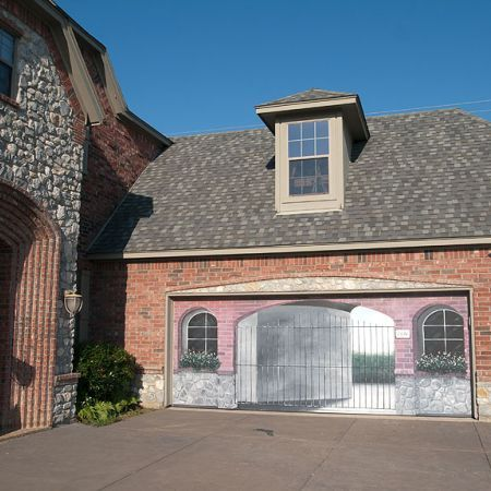 34 best images about art garages on pinterest seaside for Painted garage doors pictures