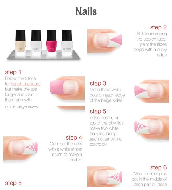 Step By Step Nail Art Using Tape: 17 Best Images About Step By Step Nail Art On Pinterest
