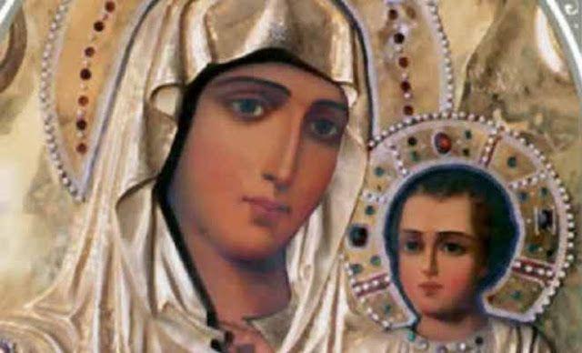 Παναγία Ιεροσολυμίτισσα : Θαυμαστή εμφάνιση της Παναγίας: Εγώ είμαι η Κυρά α...