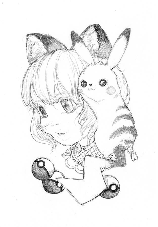 Manga studio ex 5 coloring pages ~ Best 254 Sketches / coloring pages ideas on Pinterest ...