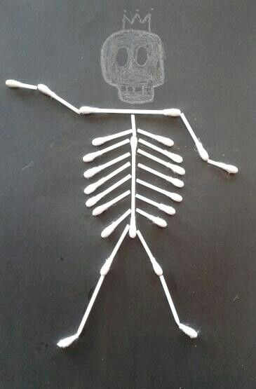 Wattenstaafjes Skelet!