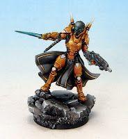 Tom Schadle Miniatures: Infinity - Yu Jing: Imperial Agent, Crane Rank