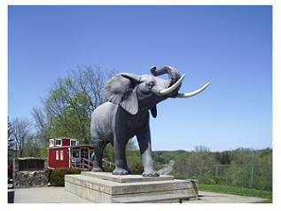 The Jumbo Monument - St.Thomas,Ontario