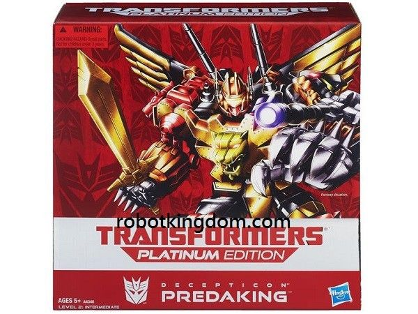 hasbro transformers platinum series predaking #transformer