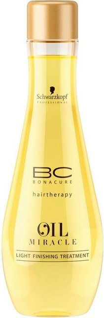 Haaröl »BC Bonacure Oil Miracle Light Finishing-Behandlung«, 1-tlg., Marula-Ö …
