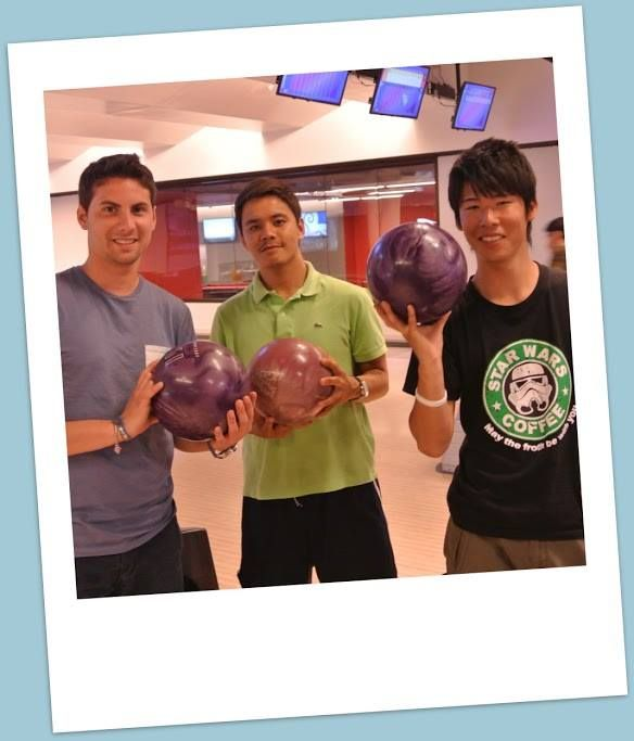 #ALI bowling night at the new Aztec Student Union bowling alley!