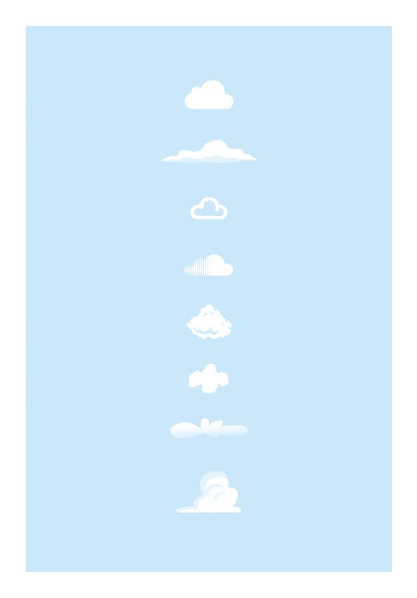 Nubes Famosas!!! Cuantas reconocen  Famous clouds!!! How many do you recognize.
