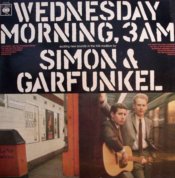 SIMON and GARFUNKEL Wednesday Morning 3am 1964 Uk Issue Vinyl 33 Lp Album Record Rock Pop Folk 1960s 63370 Free S&h
