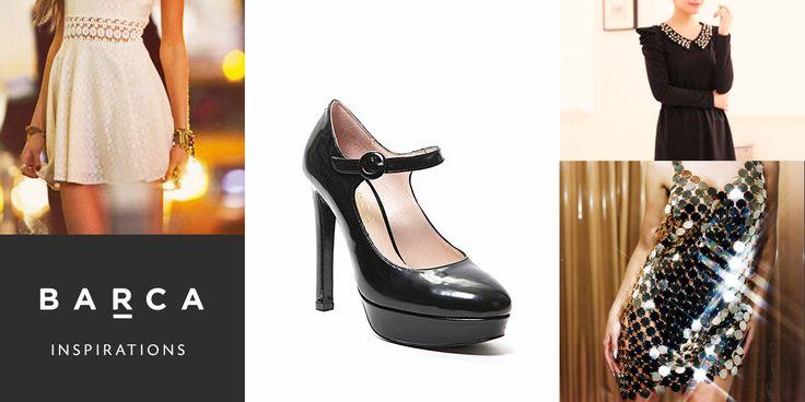 Le Mary Jane con platform per un #outfit #audace e #brillante per affrontare al meglio questo 2015 appena cominciato!