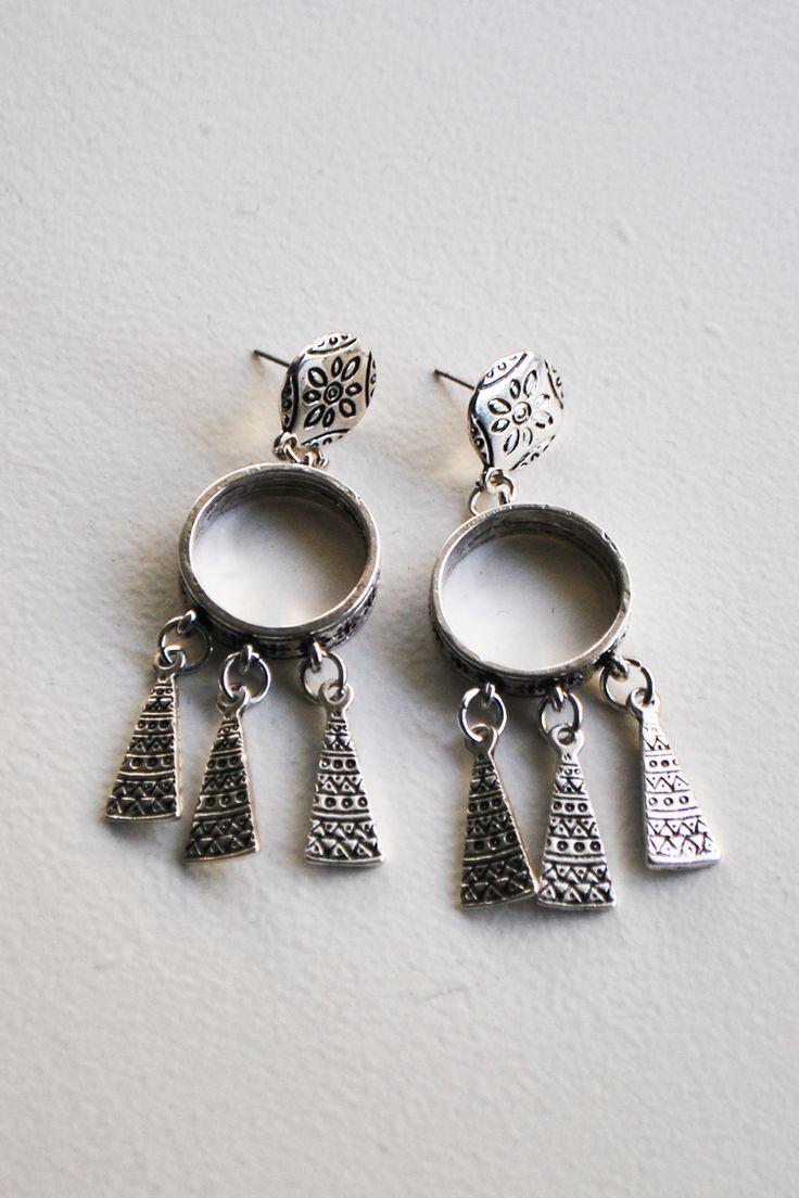 Sylver Boho Σκουλαρίκια - ΑΞΕΣΟΥΑΡ -> Κοσμήματα | Made of Grace