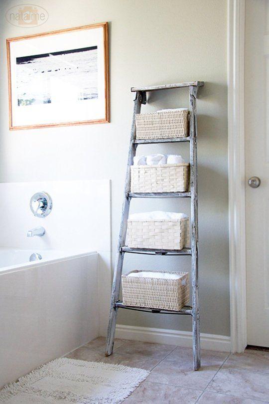 17 Wide Bathroom Vanity: 17+ Best Ideas About Decorative Ladders On Pinterest