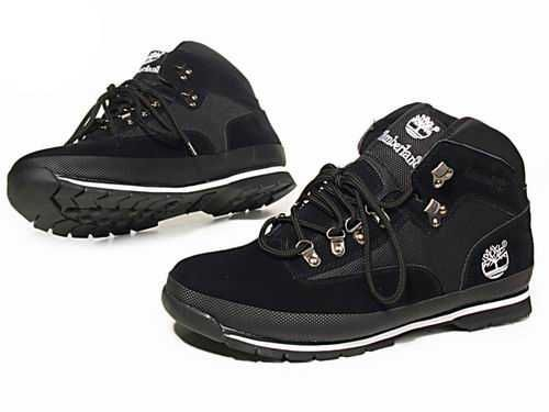 Timberland Chukka Black Boots For Mens