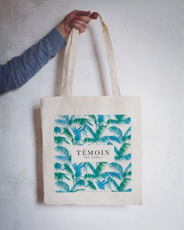 Image of Tote bag Témoin de choc