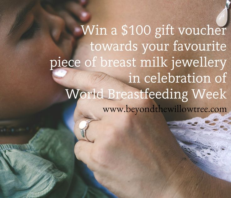 Celebrate world breastfeeding week and win a $100 gift voucher!