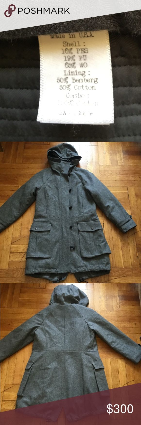 🔥Rag and Bone wool parka coat jacket supreme asap 9.5/10 condition. Heavy jacket. Very thick jacket with thick lining. Definitely worth the price. This is a very expensive piece. Feel free to inquire. I AM TAKING OFFERS. SO OFFER ON UP!!! rag & bone Jackets & Coats