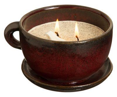 Swan Creek Candle Coffee Mug Candle - Warm Cinnamon Buns