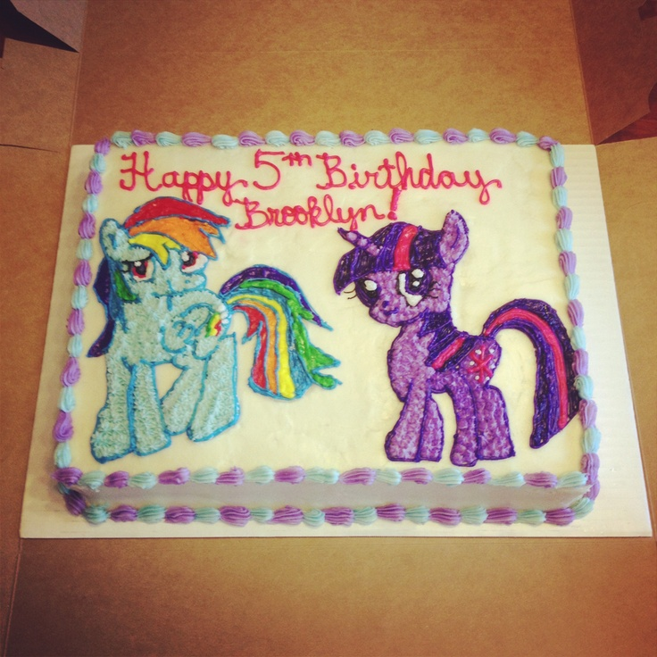 Amazoncom My Little Pony Edible Frosting Sheet Cake Topper 14 32 Best Phina Party Related Images On Pinterest Birthdays