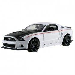 Maisto 2014 Ford Mustang Street Racer 1:24 Model Araba S/E Beyaz