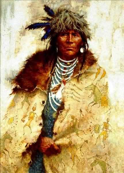 Howard Terpning : Talking Robe