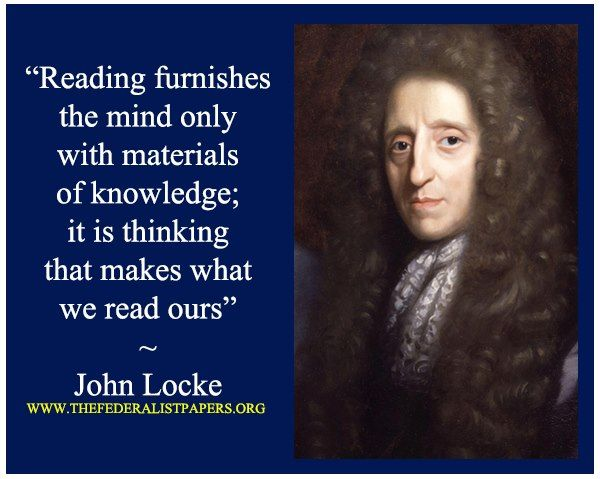 John Locke. One of my favorite philosophers.