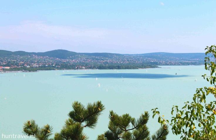 het grootste meer van Centraal - Europa, de Hongaarse zee,   het Balatonmeer