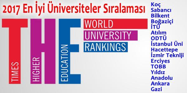 BRICS ve Yükselen Ekonomilerde En İyi Üniversiteler Sıralaması 2017 – UniDestek