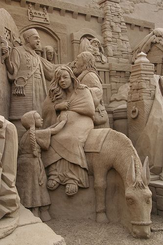 "BEAUTIFUL DETAILED SAND ""NATIVITY"" Flickr - Photo Sharing!:"