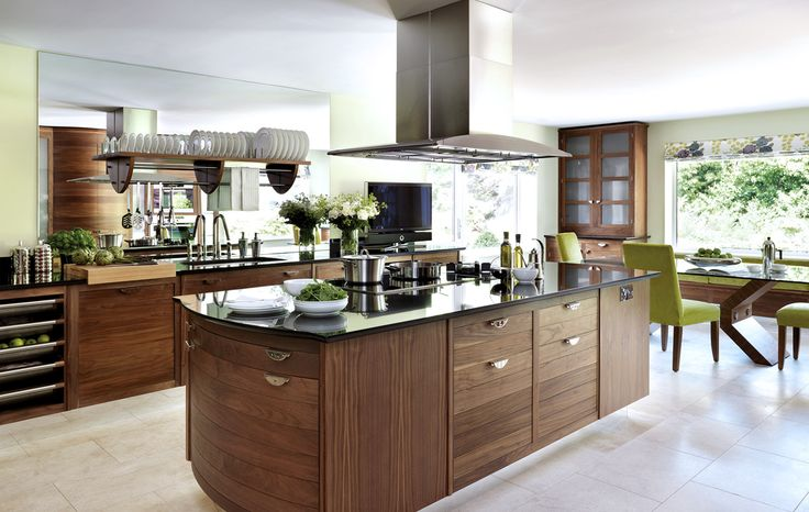 Smallbone of Devizes | Walnut & Silver Kitchen Collections | Designs & Ideas
