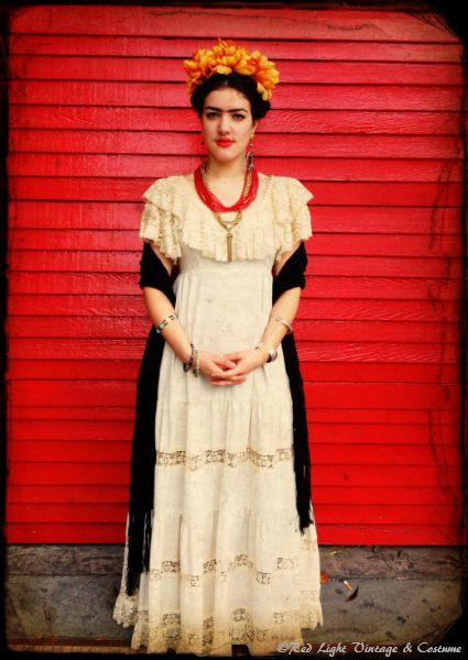 Red Light Vintage & Costume - Seattle - Employee Halloween Costumes - Frida Khalo