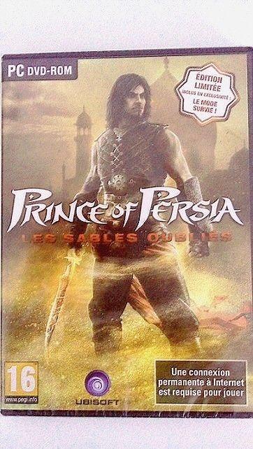 PRINCE OF PERSIA  Les sables oubliés   (Edition Limitée) + Mode Survie TRES RARE