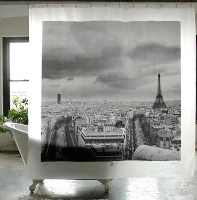 city shower curtains: France Shower, Dreams, Interiors Design, Paris France, Paris Shower, Bathroom Ideas, Showercurtain, Shower Curtains, Products