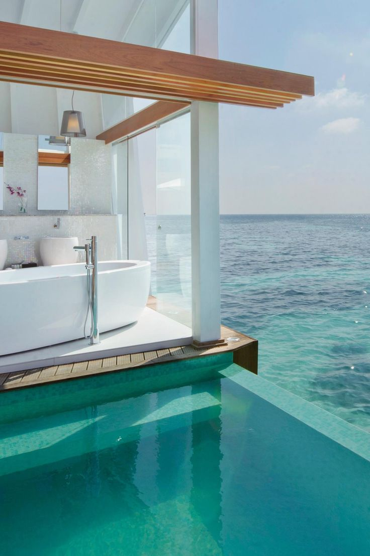 Bathtub, pool or ocean? The most impossible choice to be made on a Maldives vaca. Kandolhu Island by Universal Resorts (Kandolhu, Maldives) - Jetsetter