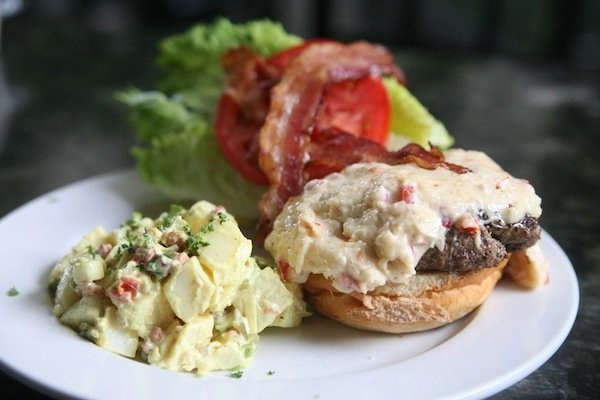 Pimento cheese, Hamburgers and Paradise on Pinterest