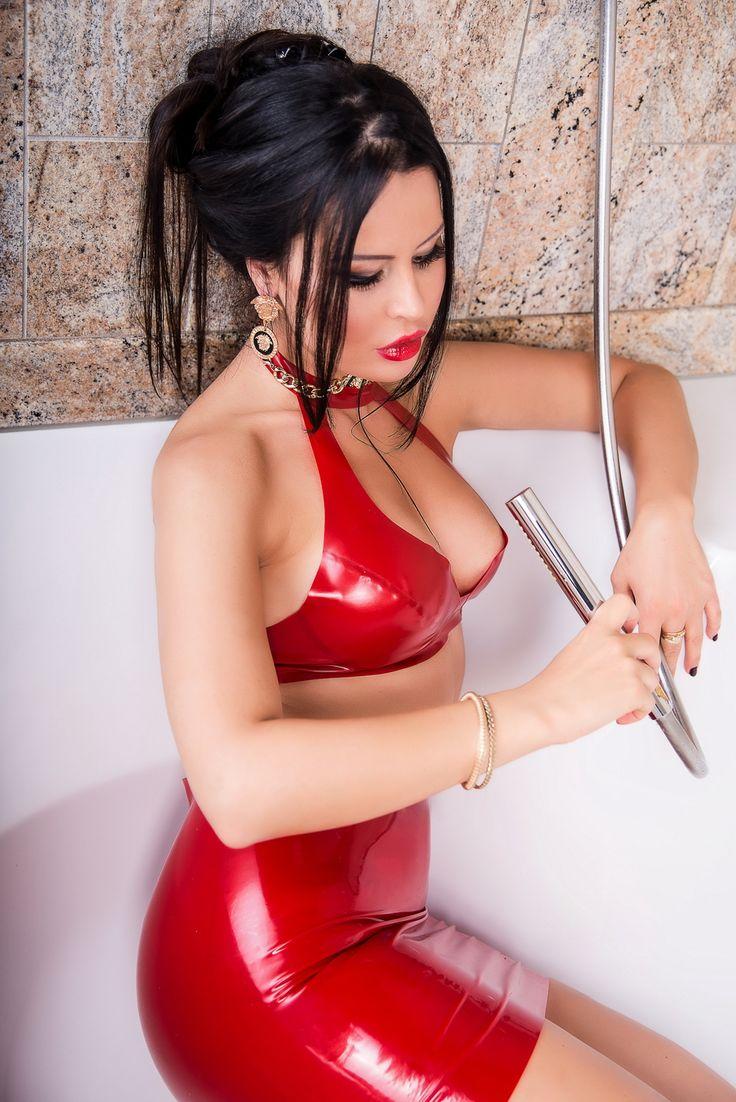 Women in girdles tied up