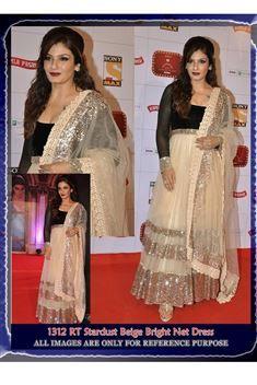 Raveena Tandon Bollywood Replica Long Anarkali Sui