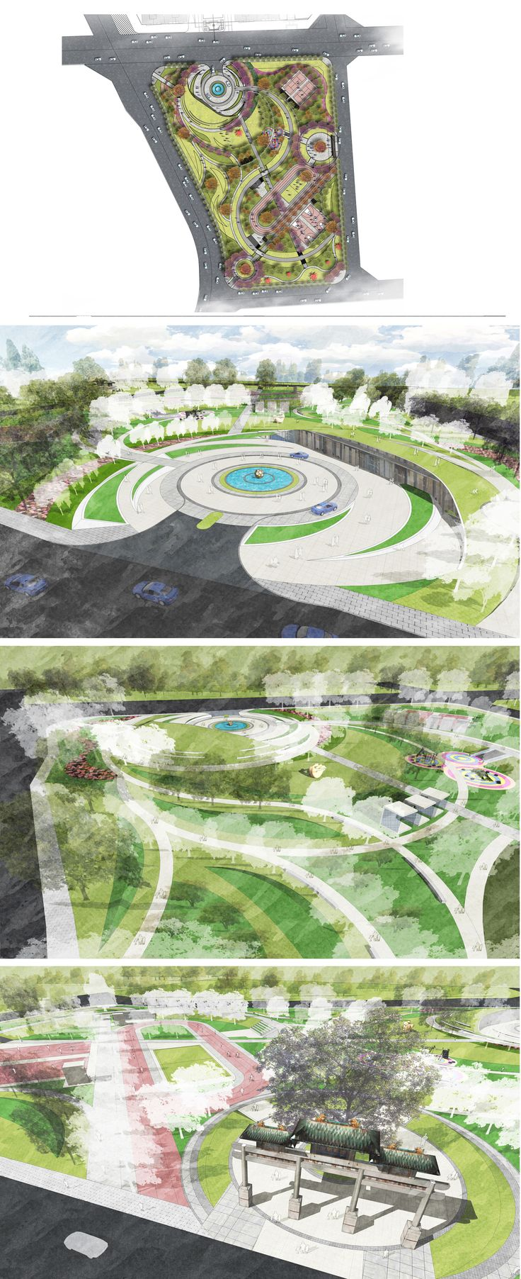 BJ sports park design