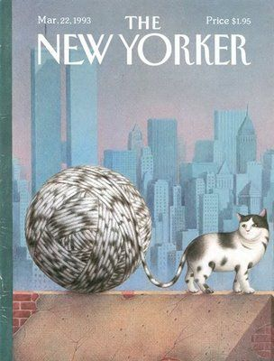 New Yorker cover by Turkish artist Gurbuz Dogan Eksioglu