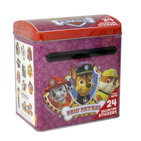 Paw Patrol Large Mailbox with Stickers