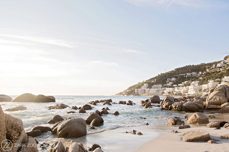 Clifton Beach, Camps bay in Cape Town.